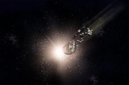 Une astéroïde ressemblant à une comète