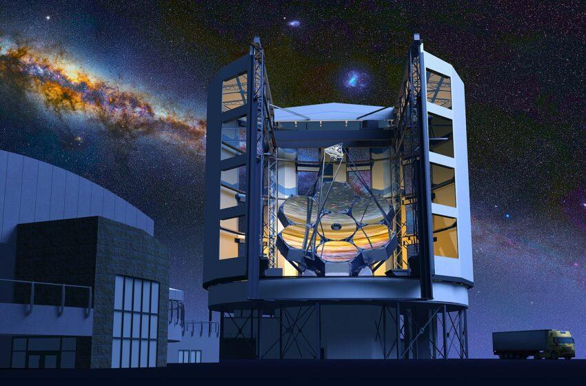 La fabrication d'un miroir de téléscope géant