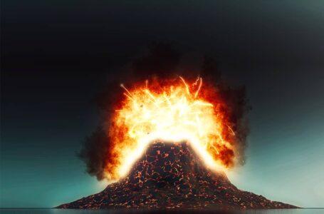 Une éruption volcanique géante à l'origine de graves transformations sur la vie humaine.
